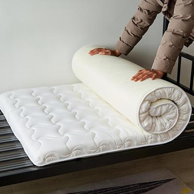 学生床水洗棉加厚5厘米款床垫 0.9*1.9 白色
