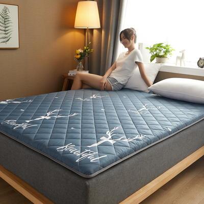 素色水洗棉防滑床垫 1.0m 鹿灰