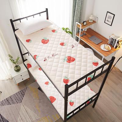单人床水洗棉防滑床垫 1.0m 甜心草莓