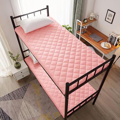 单人床水洗棉防滑床垫 1.0m 玉色方格