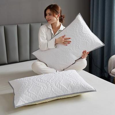 水洗棉防水夹棉枕套 48cmX74cm/只 白色