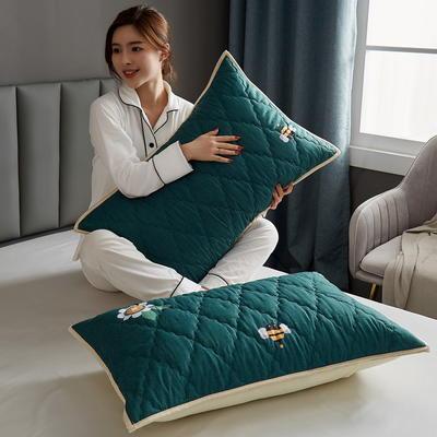 水洗棉防水夹棉枕套 48cmX74cm/只 贝塔