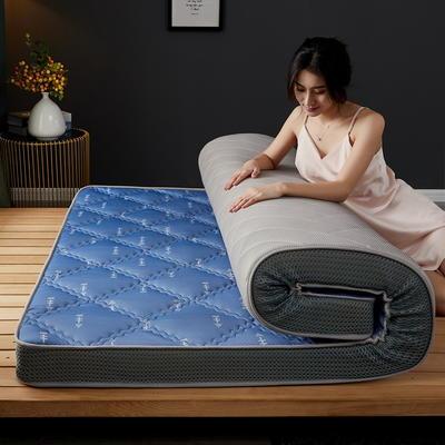 立体乳胶记忆棉床垫5-10公分 0.9*2 - 5cm 立体乳胶-大曲格幸运箭头