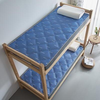 单人床立体乳胶记忆棉床垫5-10厘米2款 0.9*2.0m-厚度5cm 立体乳胶-大曲格幸运箭头