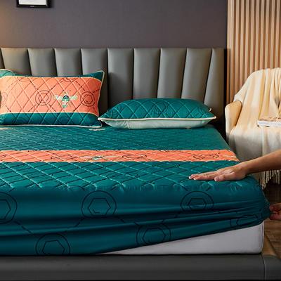 水洗棉防水夹棉床笠 180cmx200cm 艾琳