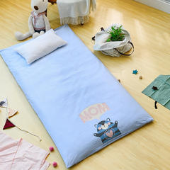床垫系列-(爱妈妈床垫小马达) 120*200 3.5斤芯蓝色
