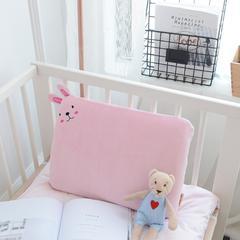 乳胶系列-(平枕) 粉色30*25cm