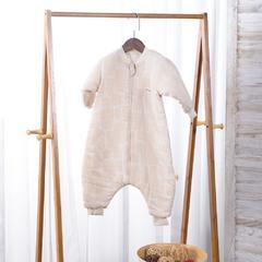 睡袋系列-(彩棉纱布系列) S树叶