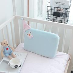 乳胶系列-(乳胶枕定型枕2) 蓝色40*30cm