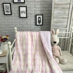 2018新款-单被套系列(纱布单被套) 初夏-粉120*150