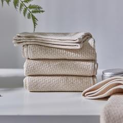 精梳棉子母纱毛浴巾-千丝万缕(150*200cm) 千丝万缕浅棕