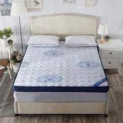 记忆绵床垫-(蓝色妖姬)(6.5cm) 1.8*2.0米 蓝色妖姬