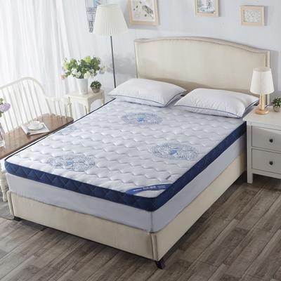记忆绵床垫-(蓝色妖姬)(10cm) 0.9*2.0米 蓝色妖姬