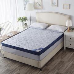 记忆棉床垫-蓝色颗粒(10CM) 1.5*1.9米 蓝色颗粒