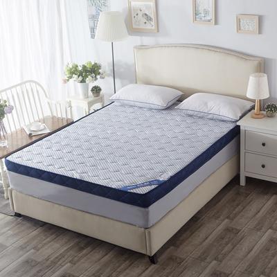 记忆棉床垫-蓝色颗粒(10CM) 0.9*2.0米 蓝色颗粒