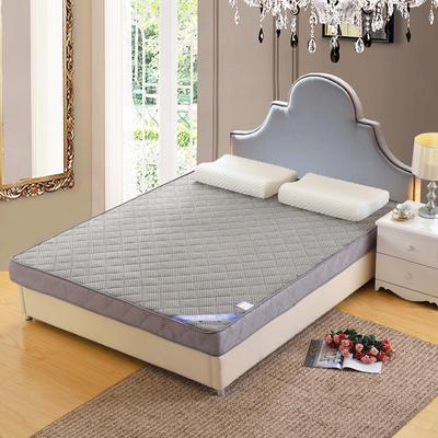 记忆棉床垫-立体贝贝绒(6.5cm) 1.8*2.0米 灰色