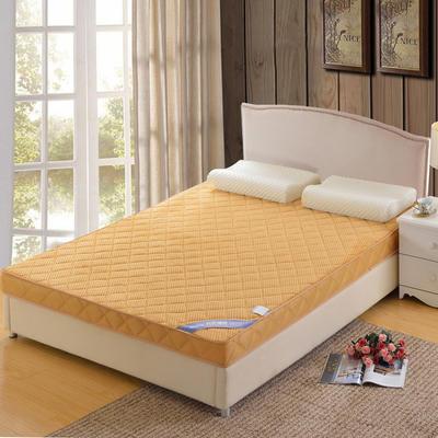 记忆棉床垫-立体贝贝绒(6.5cm) 1.8*2.0米 驼色