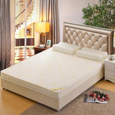 记忆棉床垫-立体贝贝绒(10cm) 0.9*2.0米 贵族白