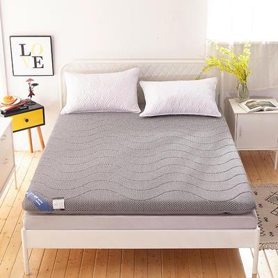 2019新款针织加厚床垫 0.9*2.0 卡其灰(厚度6.5cm)