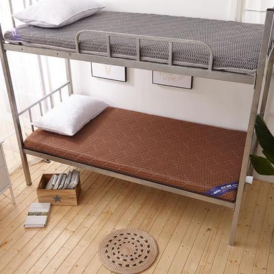 2019爆款学生宿舍床垫(厚度10cm) 1.8*2 4D咖啡色
