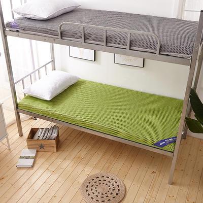 2019爆款学生宿舍床垫(厚度10cm) 1.8*2 4D绿