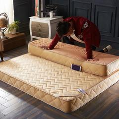 2018新款-钻爱记忆棉床垫10cm 1.2*2.0cm 驼色