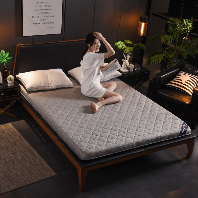 2019新款针织加厚床垫-珍珠灰(10cm)