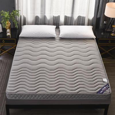 2019年防塌陷乳胶记忆棉立体透气床垫(立体加厚)10cm 0.9*2.0 银灰色