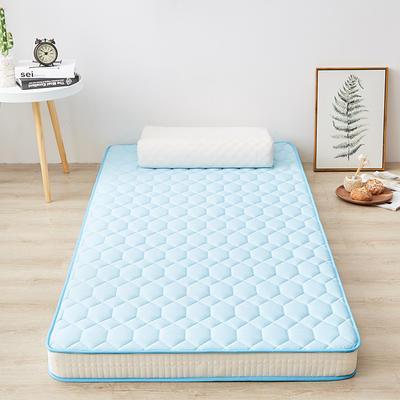 2020新款学生款抗菌床垫(6.5-10cm) 0.9*2.0m(6.5cm) 高雅蓝