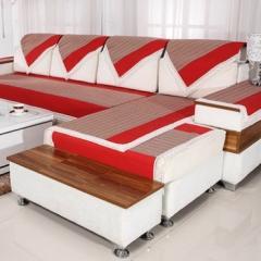 沙发巾(100*100cm)(100*190cm)(100*220cm) 套装红色