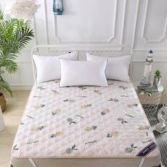 2018年新款-夹棉床护垫系列 90*200cm 菠萝