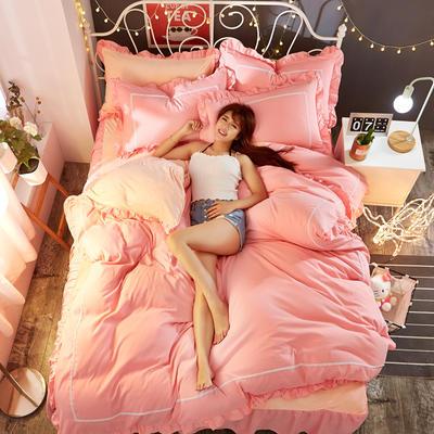 水晶绒床裙四件套 1.5m(5英尺)床 执念