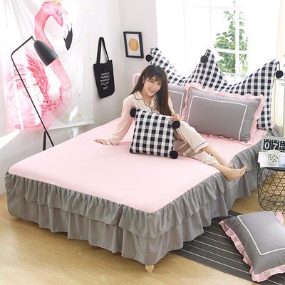 韩式床裙三件套 1.5m(5英尺)床 青春