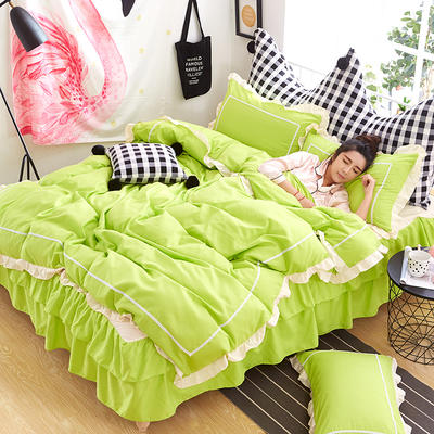 韩式床裙四件套 1.5m(5英尺)床 梦露