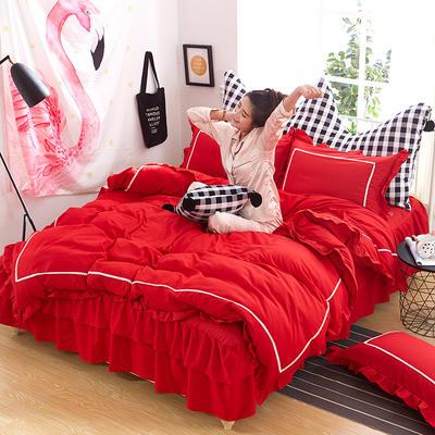 韩式床裙四件套 1.5m(5英尺)床 慕岚