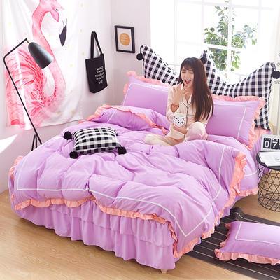 韩式床裙四件套 1.5m(5英尺)床 香晴