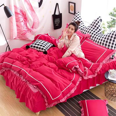 韩式床裙四件套 1.5m(5英尺)床 秀媚