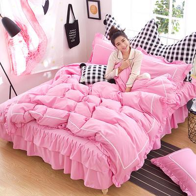 韩式床裙四件套 1.5m(5英尺)床 悠柔