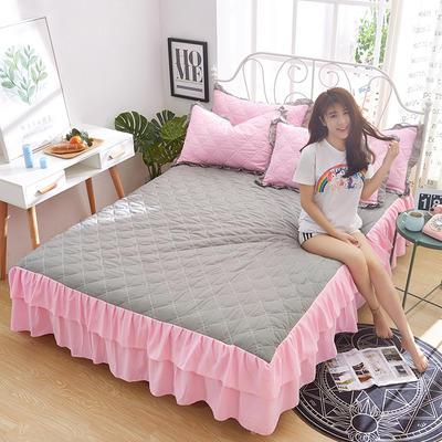 2018新款-夹棉单床裙 1.2米 春光