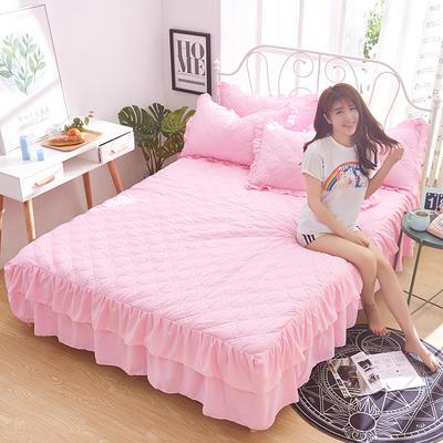 2018新款-夹棉单床裙 1.2米 静逸