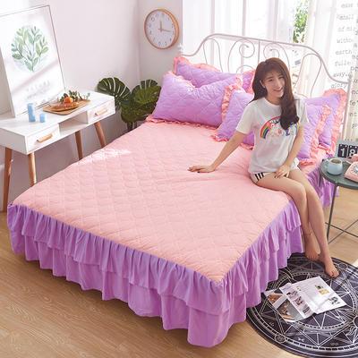 2018新款-夹棉单床裙 1.2米 香晴