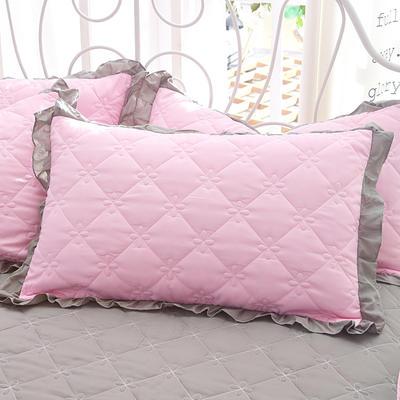 2018新款-夹棉枕套 48cm*74cm/对 春光
