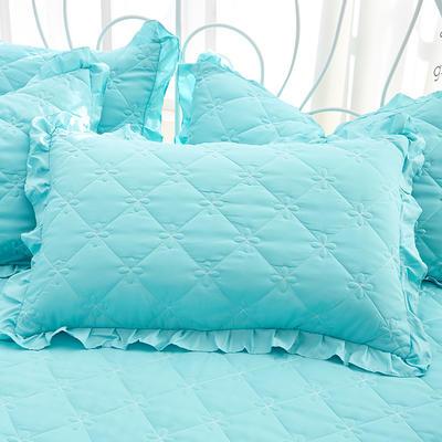 2018新款-夹棉枕套 48cm*74cm/对 兰若