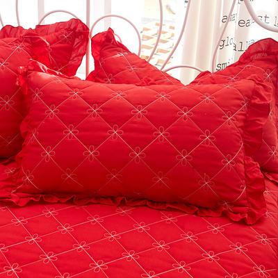 2018新款-夹棉枕套 48cm*74cm/对 慕岚
