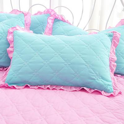 2018新款-夹棉枕套 48cm*74cm/对 歆瑶