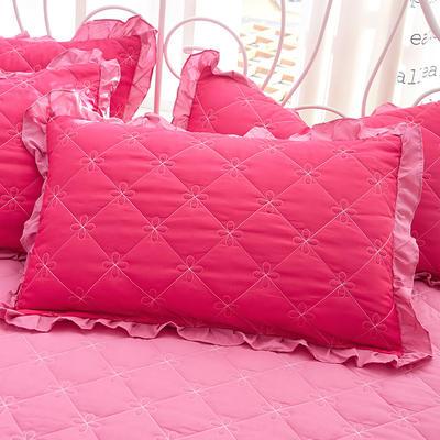 2018新款-夹棉枕套 48cm*74cm/对 秀媚