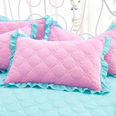 2018新款-夹棉枕套 48cm*74cm/对 雅静