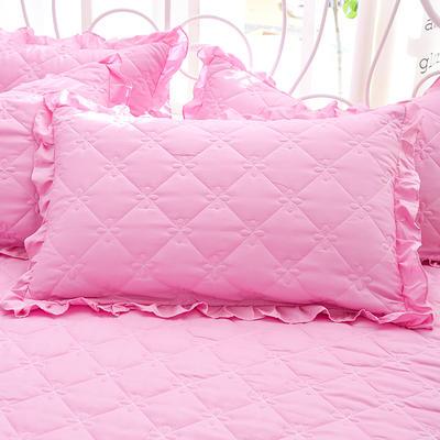 2018新款-夹棉枕套 48cm*74cm/对 悠柔