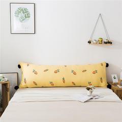 2019新款北欧简约风床头长靠背沙发榻榻米软包大靠垫双人可拆洗加长靠枕 0.9 长条小萝卜