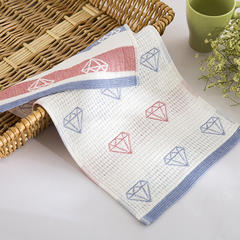 婴童毛巾4条装纱布毛巾(1.1*1.1) 1